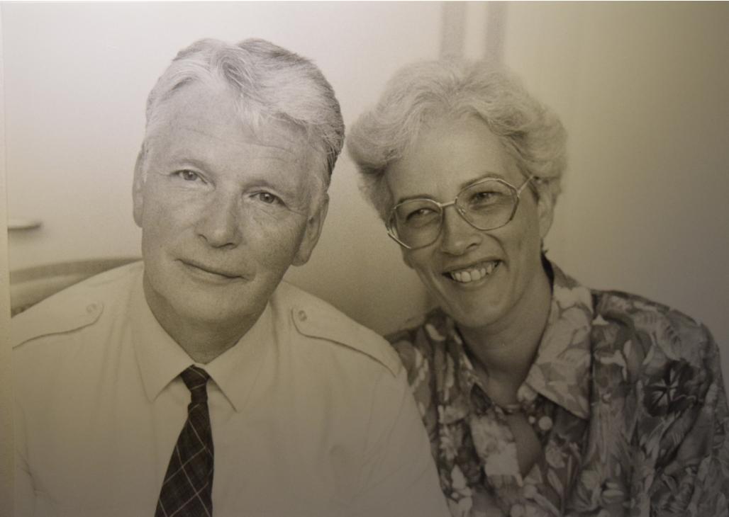 Johann Rudolf und Heidi Erne-Lendenmann; Archiv Hotel Blume.