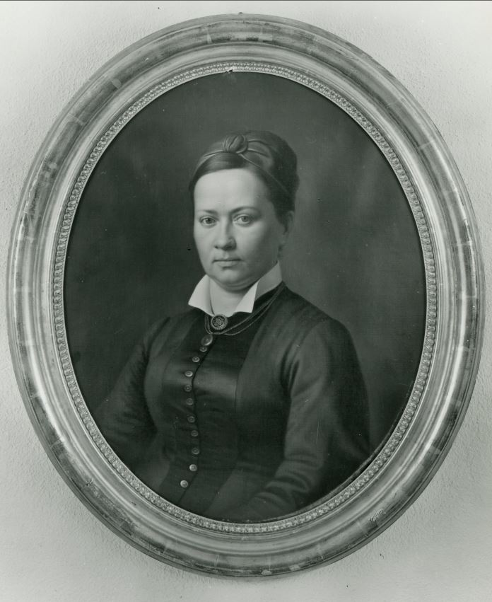 Mathilde Borsinger-Müller, Portrait um 1885. Denkmalpflege Aargau.