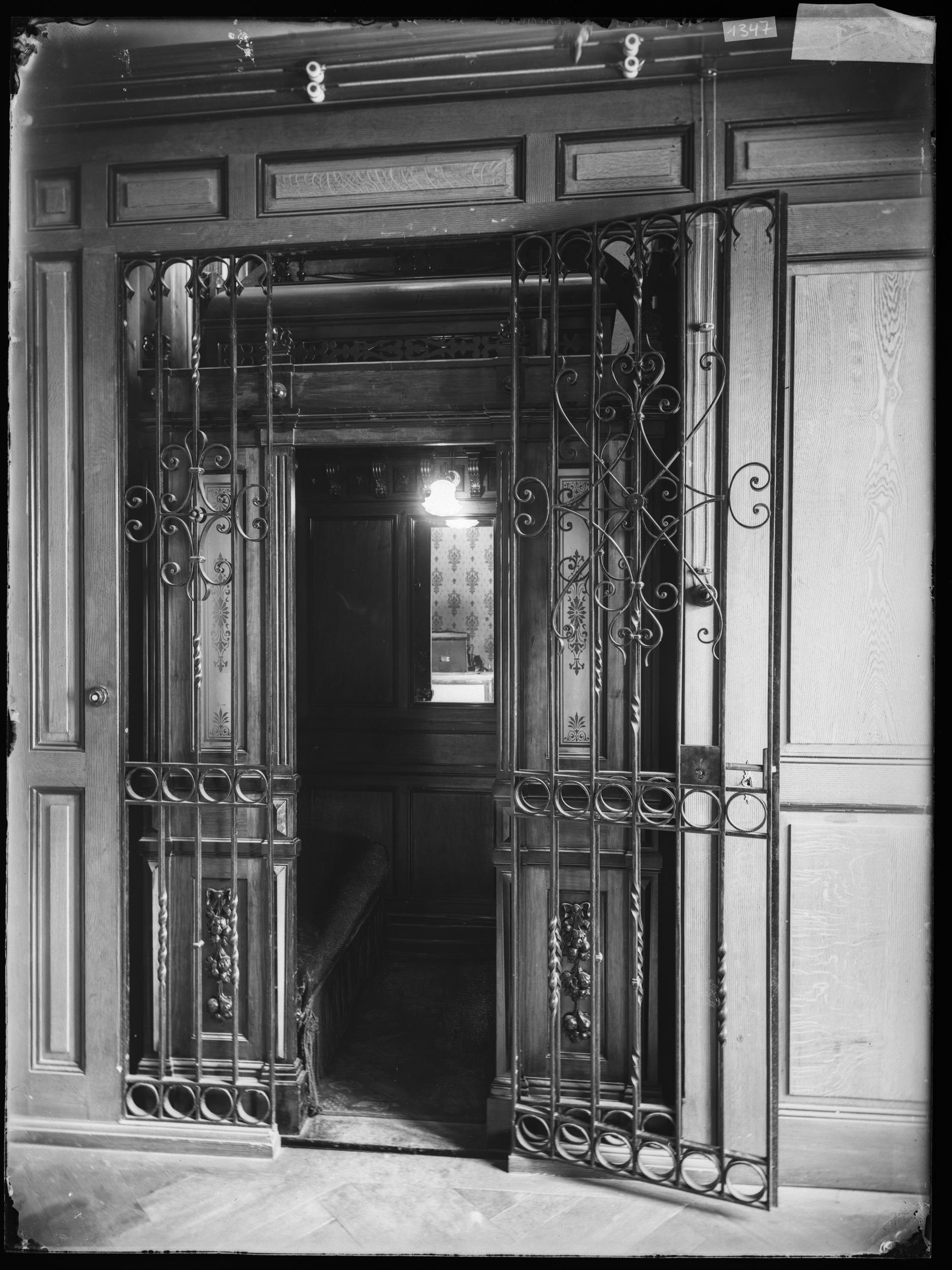 Lift aus dem Verenahof oder Limmathof. Stadtarchiv Baden, Fotohaus Zipser, Q.12.1.1347, CC BY-SA 4.0.
