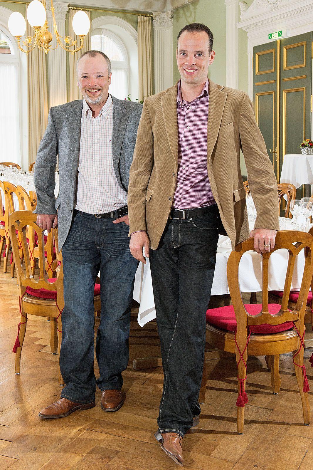 Silvio und Patrik Erne; Archiv Hotel Blume.