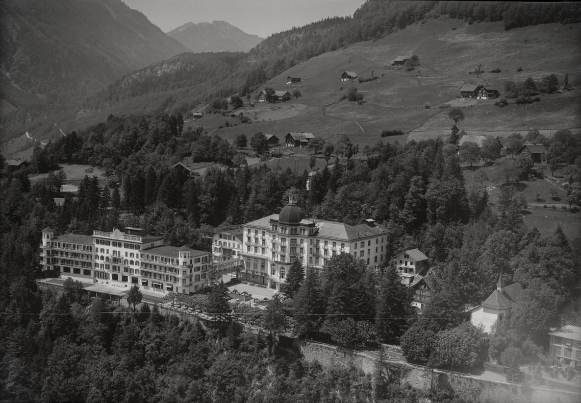 Hotel Sonnenberg, Seelisberg. Aufnahme 1905.