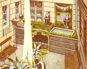 Das Steingefäss im Atrium