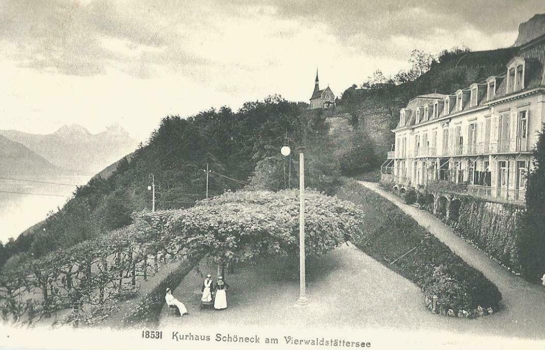 Die Kuranstalt Schöneck